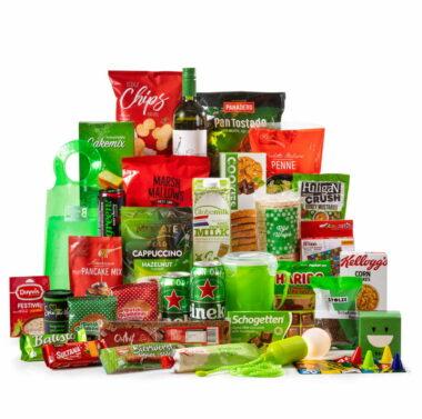 Kerstpakket Kerstkleuren XXL