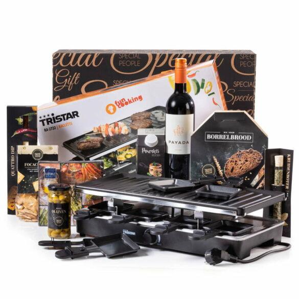 Kerstpakket Zet de raclette maar aan!